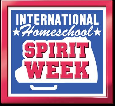 It's International Homeschool Spirit Week!!! Let's Celebrate!