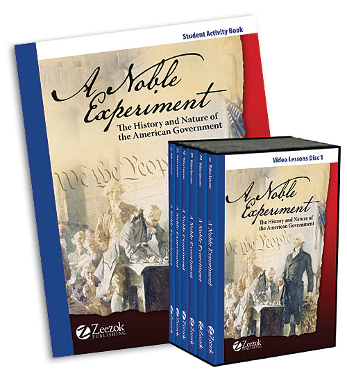 A Noble Experiment – The History and Nature of American Government GIVEAWAY
