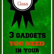 3 Gadgets You Need for Your Homeschool