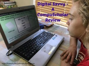 Learning to be Digitally Savvy with CompuScholar – A Review