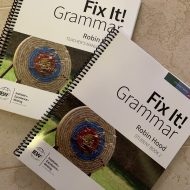 Fun with Fix-It Grammar – An IEW Review